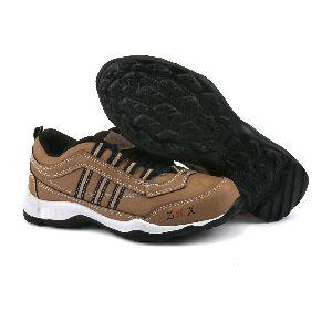 Kids Tan Black Shoes 01