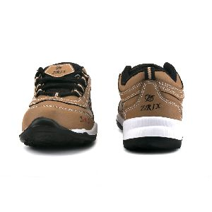 Kids Tan Black Shoes 02