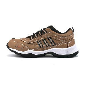Kids Tan Black Shoes 05