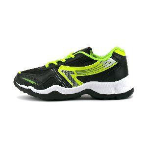 Kids Black P Shoes 03