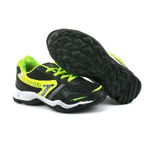 Kids Black P Shoes 04