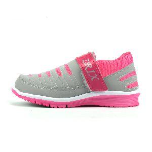 Ladies Grey & Pink Shoes 03