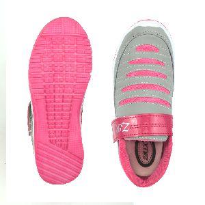 Ladies Grey & Pink Shoes 05