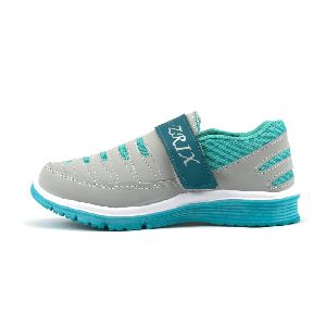 Ladies Grey & Sea Shoes 03