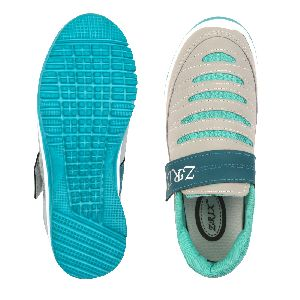 Ladies Grey & Sea Shoes 05