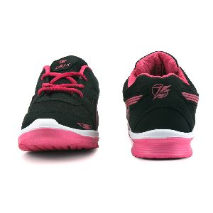 Ladies Black & Pink Shoes 02