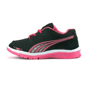 Ladies Black & Pink Shoes 03
