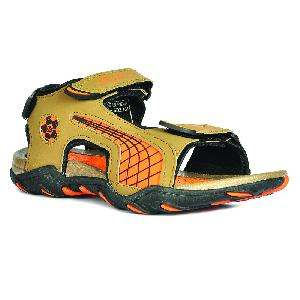 SDZ 101 Mens Mouse & Orange Sandals 04