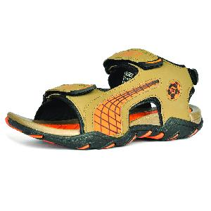 SDZ 101 Mens Mouse & Orange Sandals 05