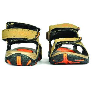 SDZ 101 Mens Mouse & Orange Sandals 06
