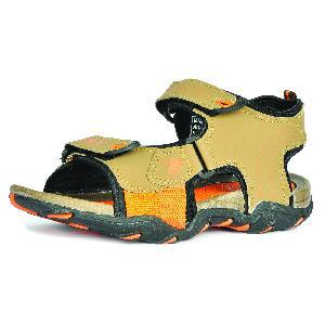 SDZ 102 Mens Mouse & Orange Sandals 06