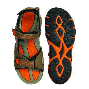 SDZ-106 Mens Mouse & Orange Sandal 03