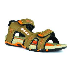 SDZ-106 Mens Mouse & Orange Sandal 04