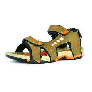 SDZ-106 Mens Mouse & Orange Sandal 05