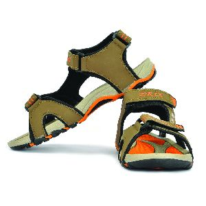 SDZ-106 Mens Mouse & Orange Sandals