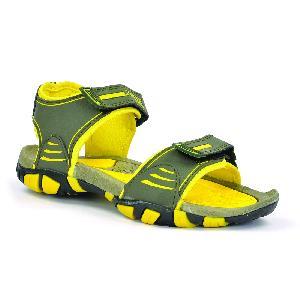 SDZ 113 Mens Mehndi & Yellow Sandals 05