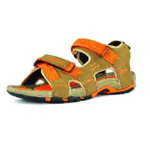 SDZ 115 Mens Mouse & Orange Sandals 01