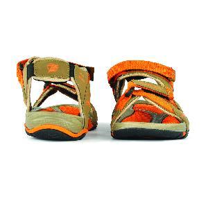SDZ 115 Mens Mouse & Orange Sandals 02