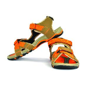SDZ 115 Mens Mouse & Orange Sandals 04
