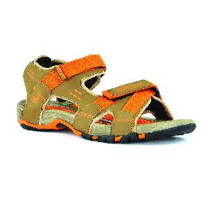 SDZ 115 Mens Mouse & Orange Sandals 06