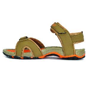 SDZ 116 Mens Mouse & Orange Sandals 02
