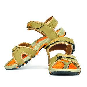 SDZ 116 Mens Mouse & Orange Sandals 03