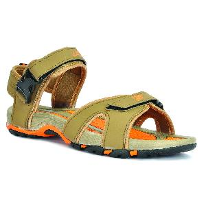SDZ 116 Mens Mouse & Orange Sandals 05