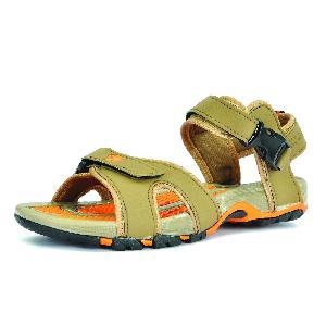 SDZ 116 Mens Mouse & Orange Sandals 06