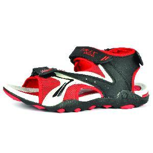SDZ 118 Mens Black & Red Sandal 06