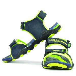 SDZ 119 Mens Mehndi & Yellow Sandals 03