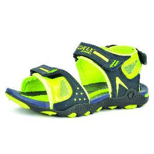 SDZ 119 Mens Mehndi & Yellow Sandals 06