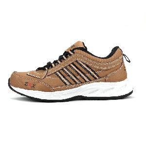 ZX 1 Mens Tan Black Shoes 01