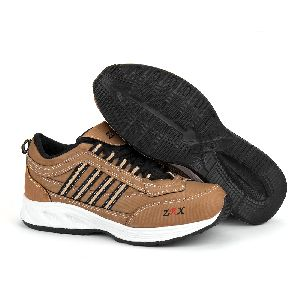 ZX 1 Mens Tan Black Shoes 02