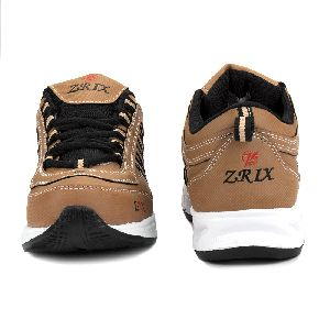 ZX 1 Mens Tan Black Shoes 03