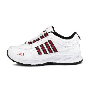 ZX 1 Mens White & Black Shoes 03