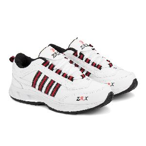ZX 1 Mens White & Black Shoes