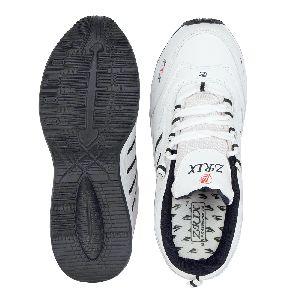 ZX 1 Mens White & Blue ShoeS 04
