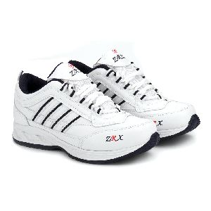 ZX 1 Mens White & Blue Shoes