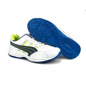 ZX 10 Mens White & Blue Shoes 01