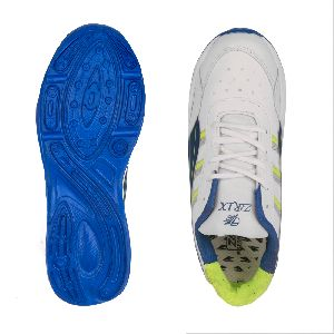 ZX 10 Mens White & Blue Shoes 02