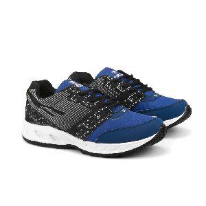 ZX 11 Mens Black & Royal Blue Shoes 01