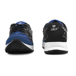 ZX 11 Mens Black & Royal Blue Shoes 02