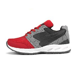 ZX-11 Mens Grey & Red Shoes 03