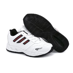 ZX-12 Mens White & Black Shoes 04