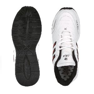 ZX-12 Mens White & Black Shoes 05