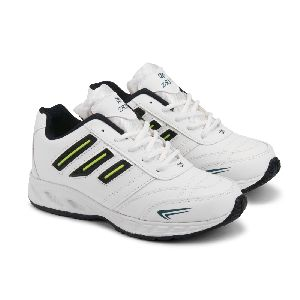 ZX-12 Mens White & Blue Shoes