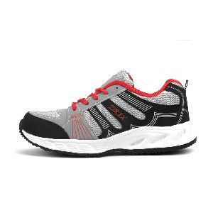 ZX-16 Black & Red Shoes 03