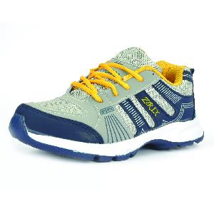 ZX 16 Mens Blue & Yellow Shoes 02