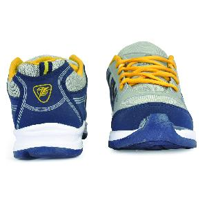 ZX 16 Mens Blue & Yellow Shoes 04