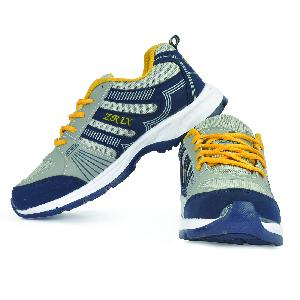 ZX 16 Mens Blue & Yellow Shoes 05